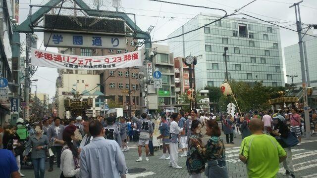 千住本氷川神社の大祭でした。