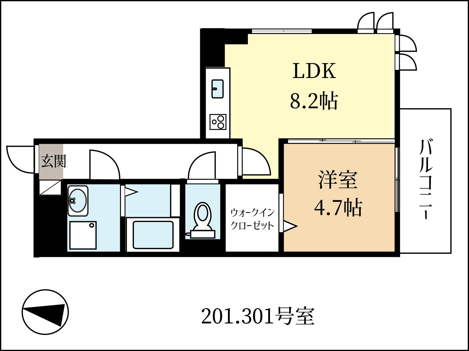 2021年1月上旬入居可 新築1LDK 大和ハウスのD-room