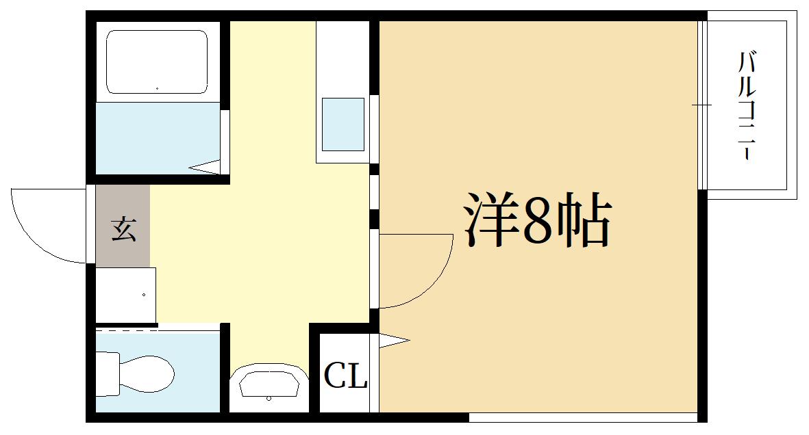 新入生様のみ入居可能 1K新築物件(茶山駅近所)