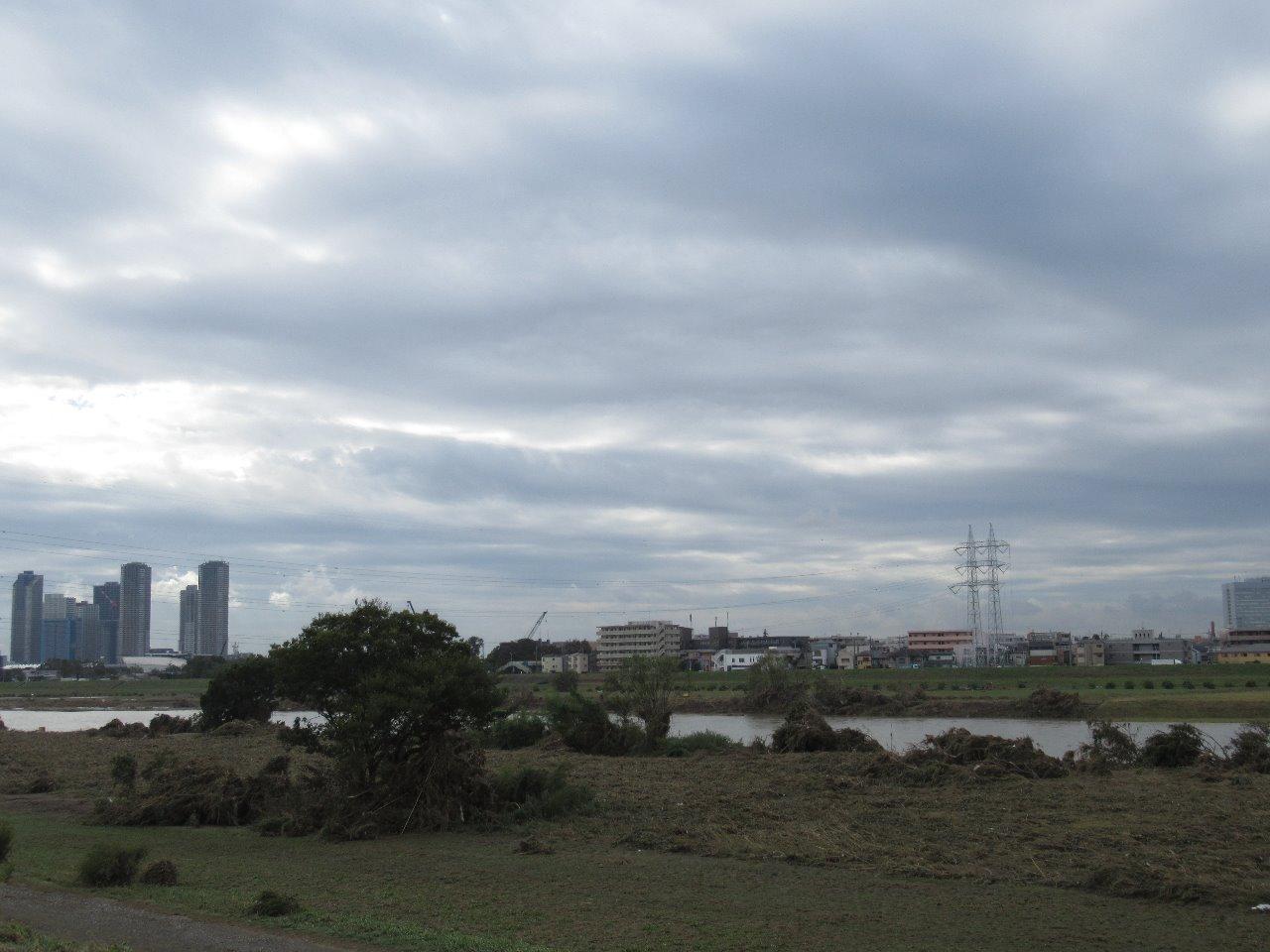2019.10.15 ~まさか多摩川が・・・~