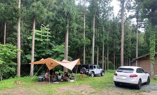 天川村洞川キャンプ場へ行って来ました!