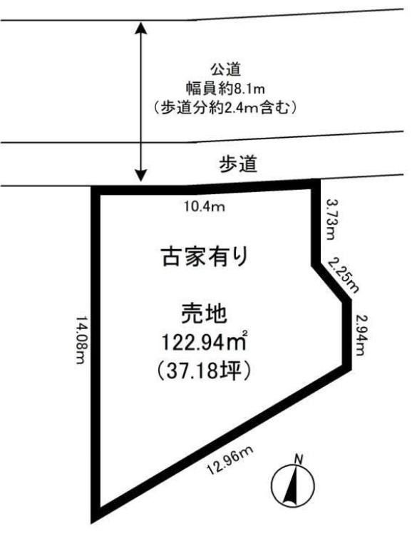 【未公開】 入間工業団地至近! 建築条件なし売地 37坪 930万円