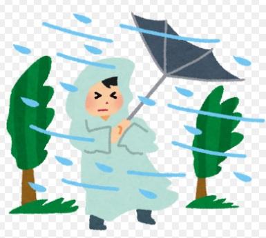 大雨(;^ω^)