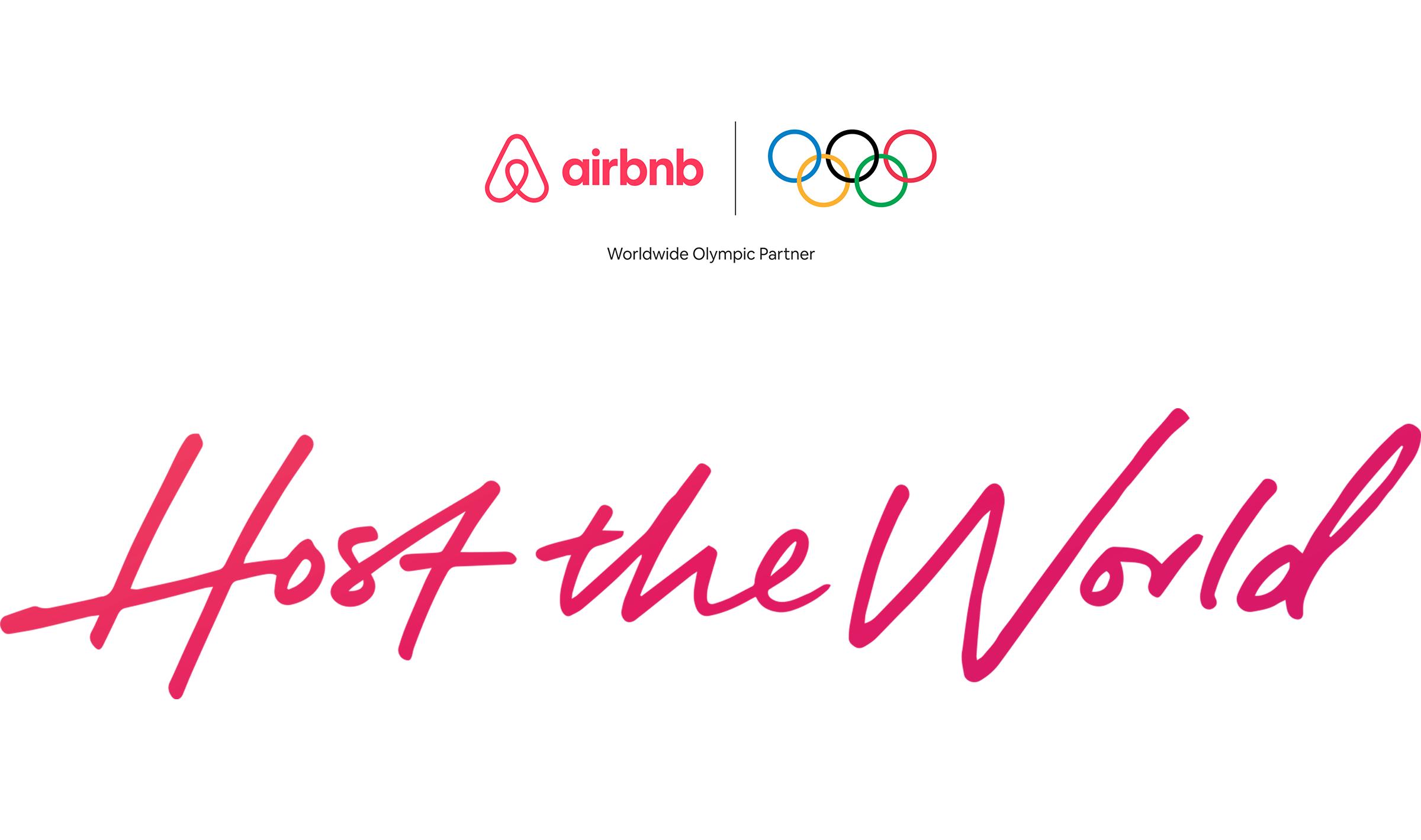 Airbnbは、2028年までオリンピック活動を支援する画期的な公式パートナー契約を締結し、発表