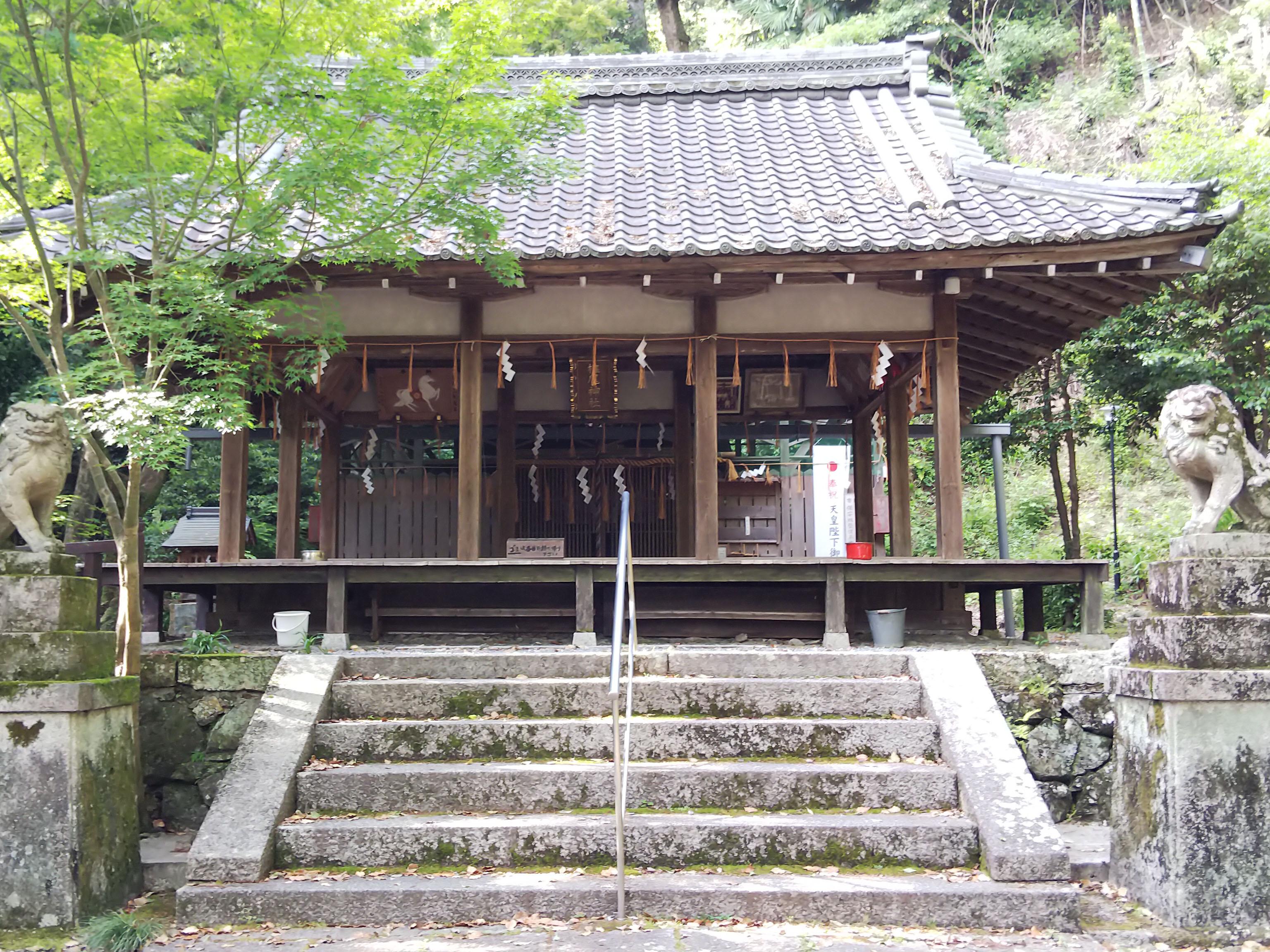 <三島郡島本町 椎尾神社>
