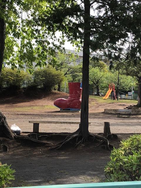 増尾西小学校前の長くつ公園