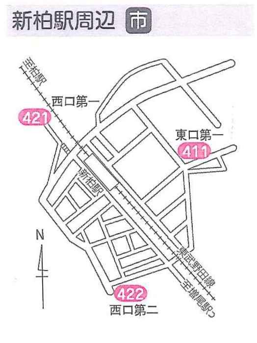 柏市内の駅前駐輪場利用について☆