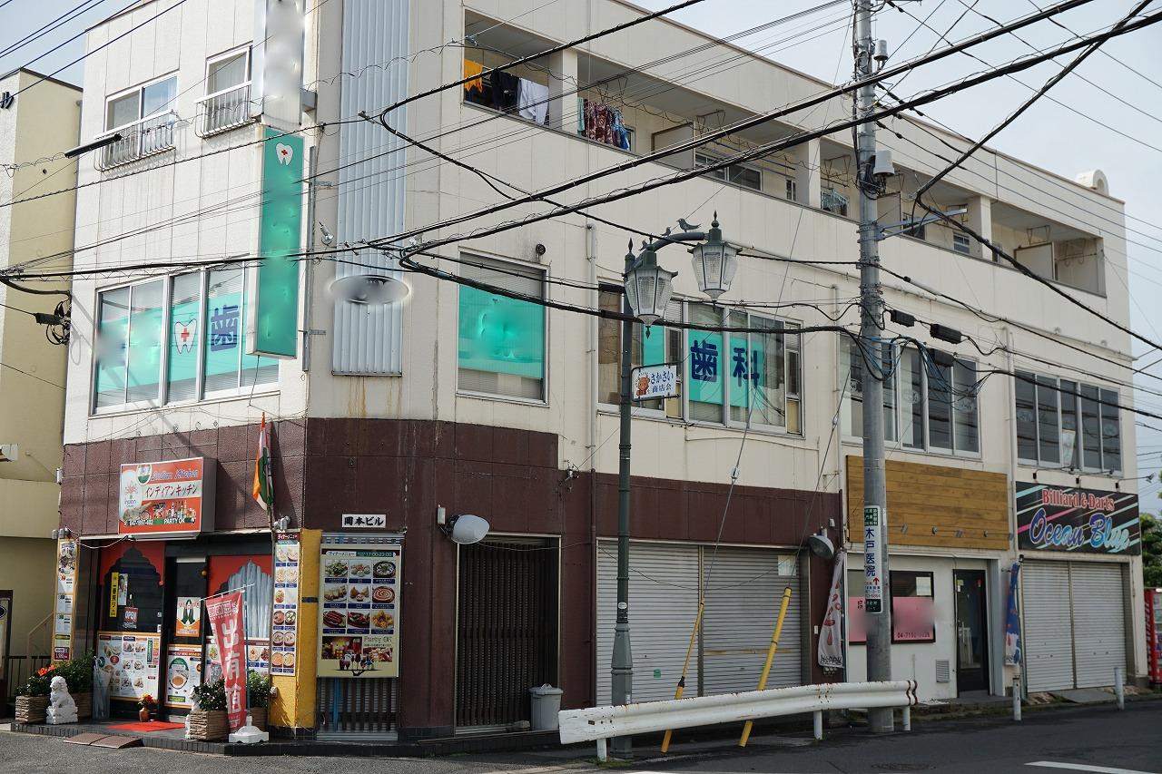 東武野田線逆井駅徒歩1分 貸店舗事務 『所岡本ビル』