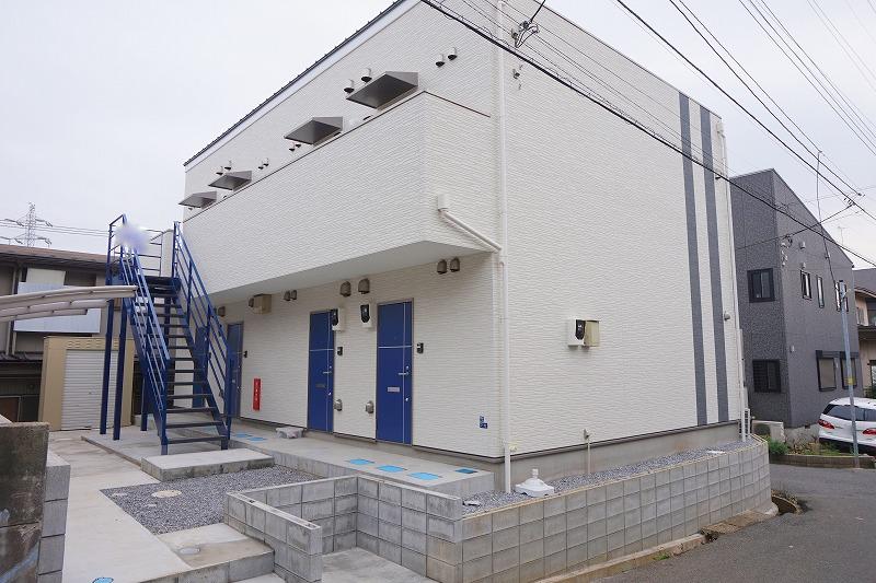 新築1Kアパート! システムキッチン付 増尾駅徒歩9分