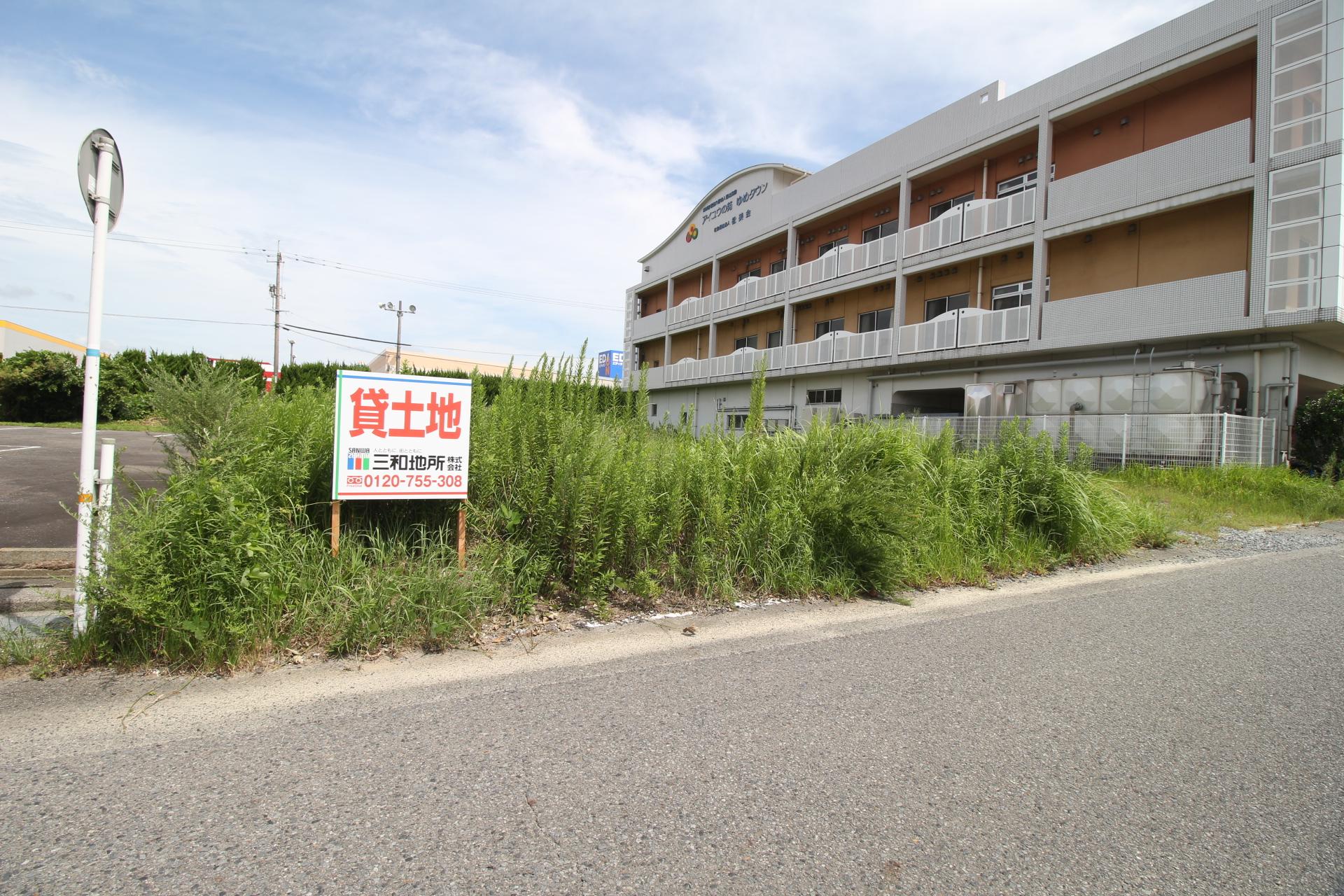 ゆめタウン貸土地 202坪 150,000円(税別)