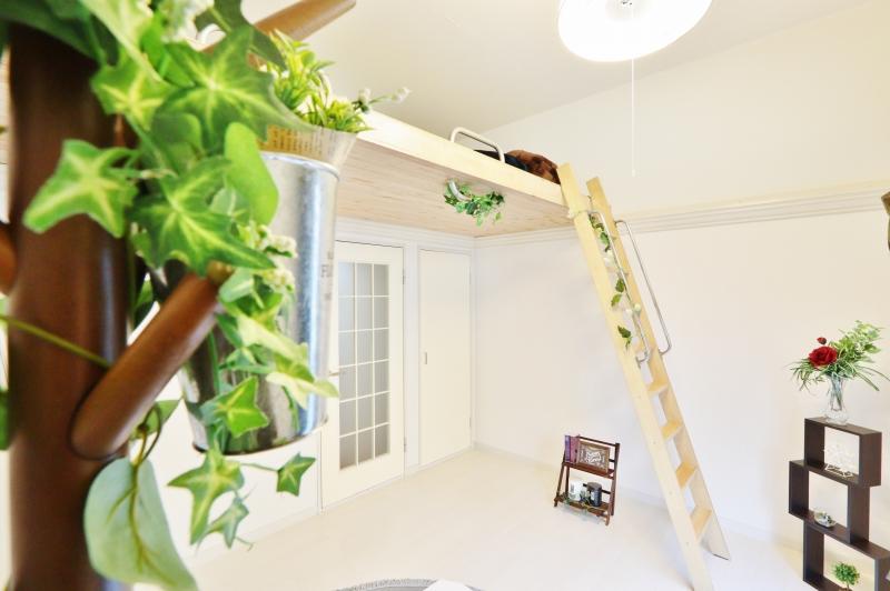 ロフトがオシャレ★隠れ家のようなかわいいお部屋★