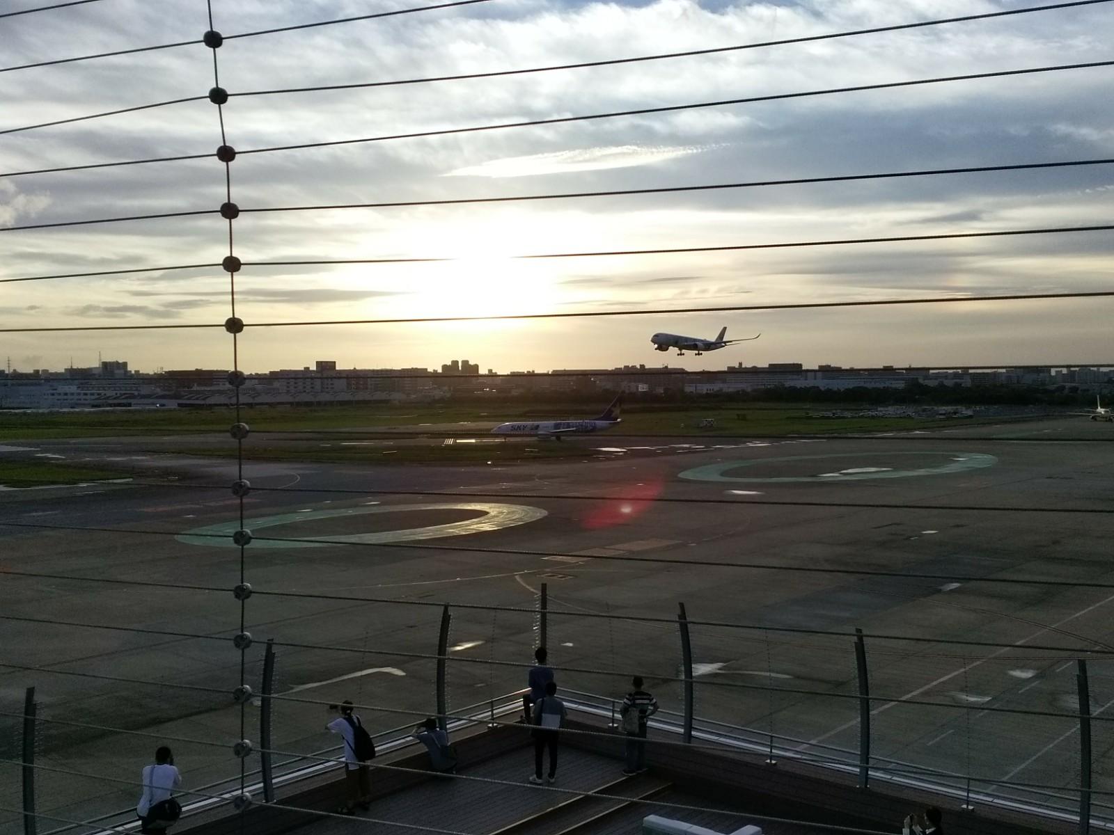 福岡空港展望デッキエリア、リニューアルオープン