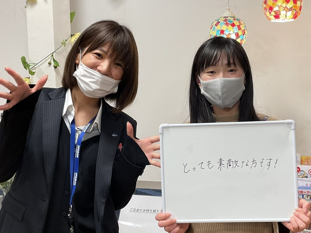 【お客様の声】松山市駅前店「内覧時から丁寧に対応、安心」