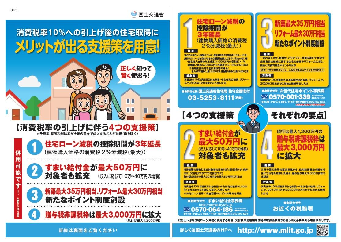 【ご存知ですか?「すまい給付金」】マイホーム購入で最大50万円受け取れます!