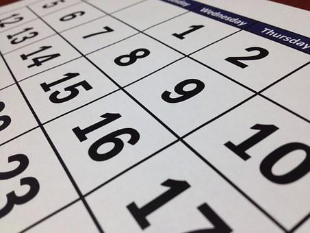 お部屋探しカレンダー①(岐阜大学、岐阜薬科大学、平成医療短大の在校生の方向け)