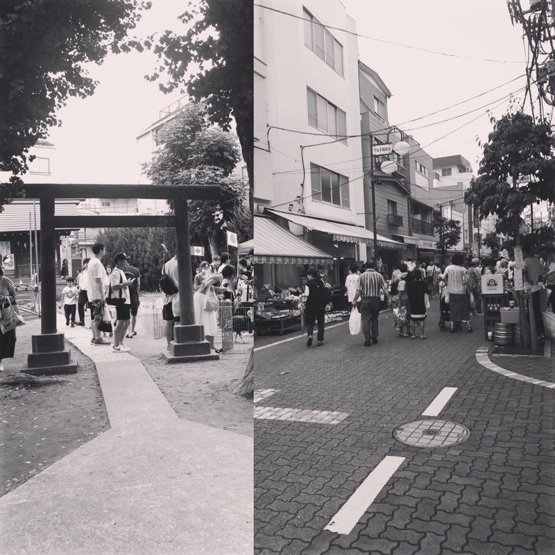 2019年7月20日 下丸子フェスタ開催!たくさんの方々が下丸子に来てくれました!感謝です。