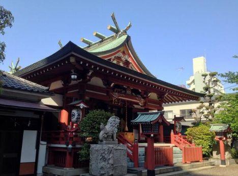 台東区 神社巡り