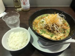 炎真 坦々麺