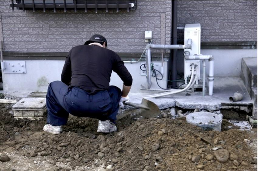 水道埋設管の確認ポイント