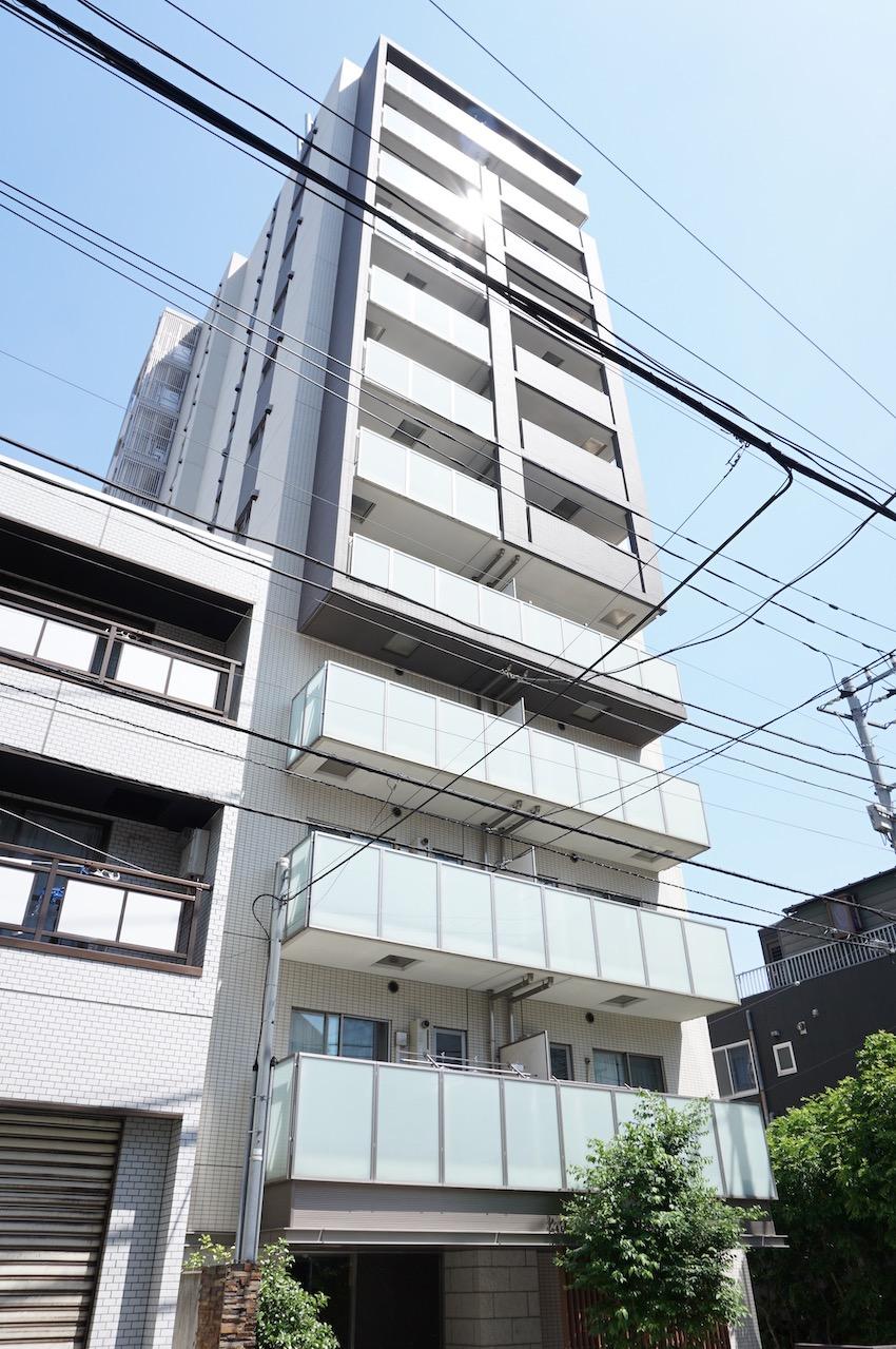 最上階12階角部屋 白金の築浅レジデンス    成約済み