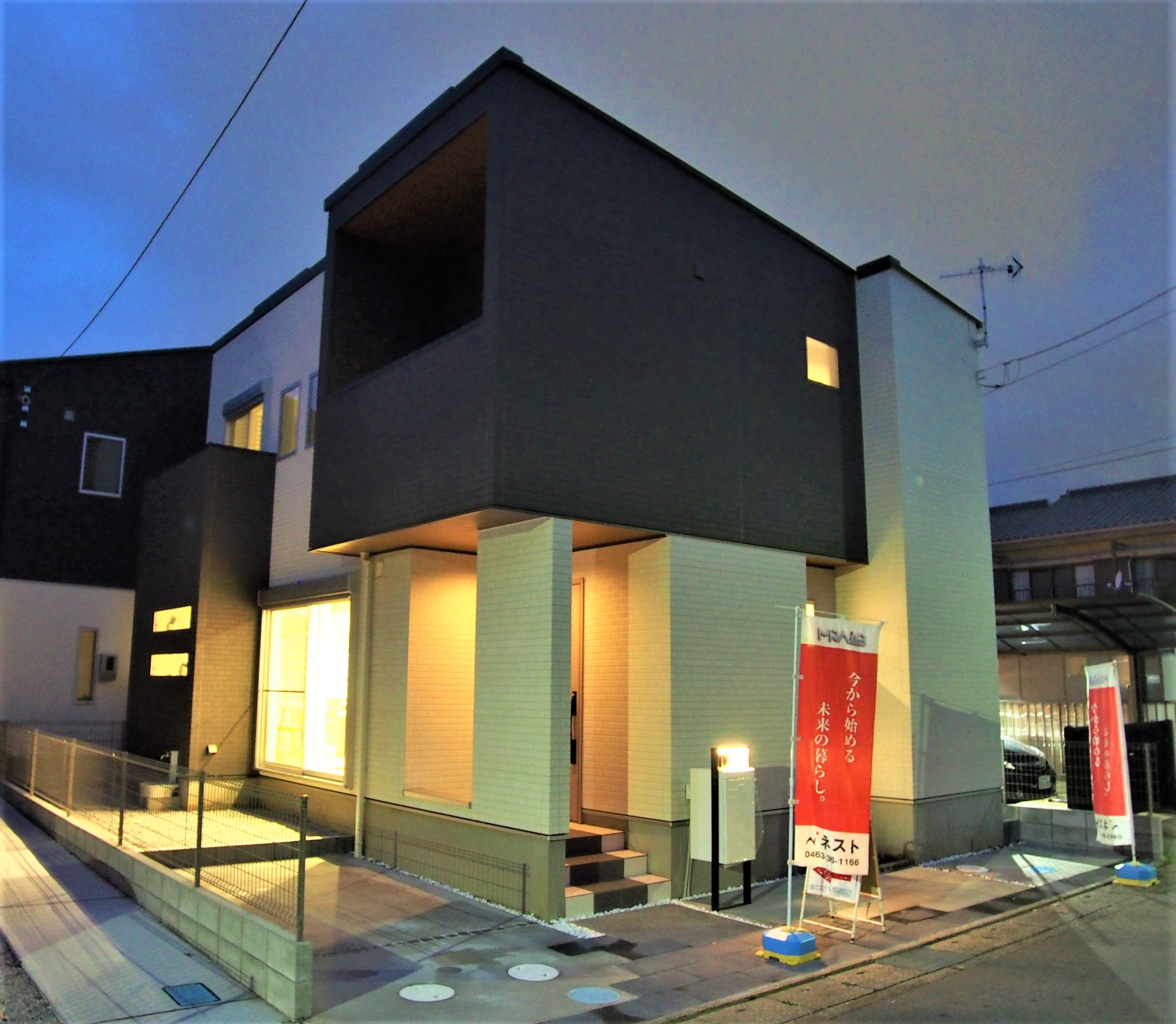 【平塚市中里】夜でも見れる!ナイト見学会開催!