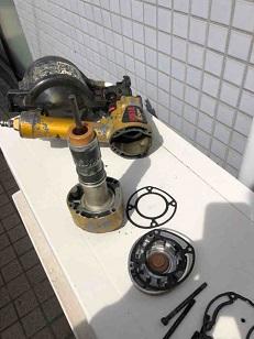 鉄砲の修理