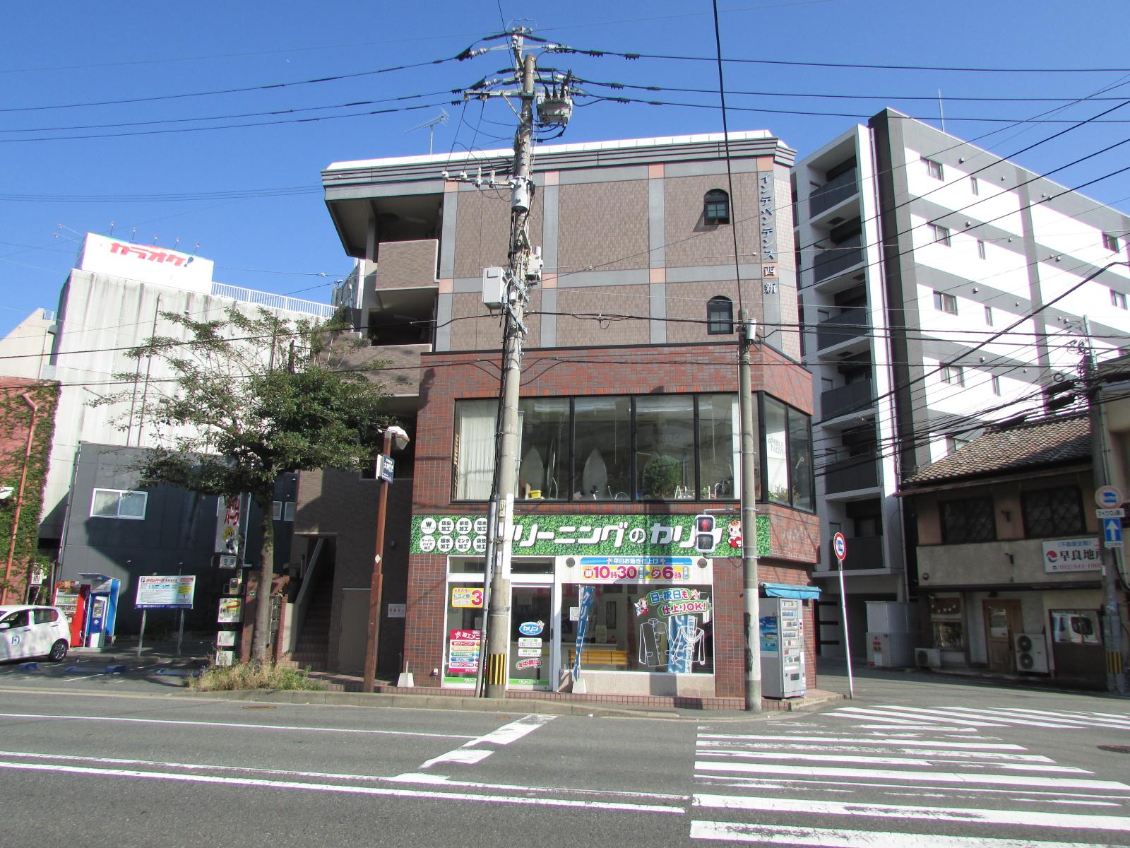 【店舗】早良区西新|1階店舗。地下鉄「西新」駅徒歩2分!!