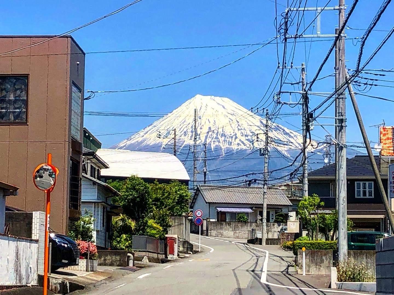 ドーンと富士山!