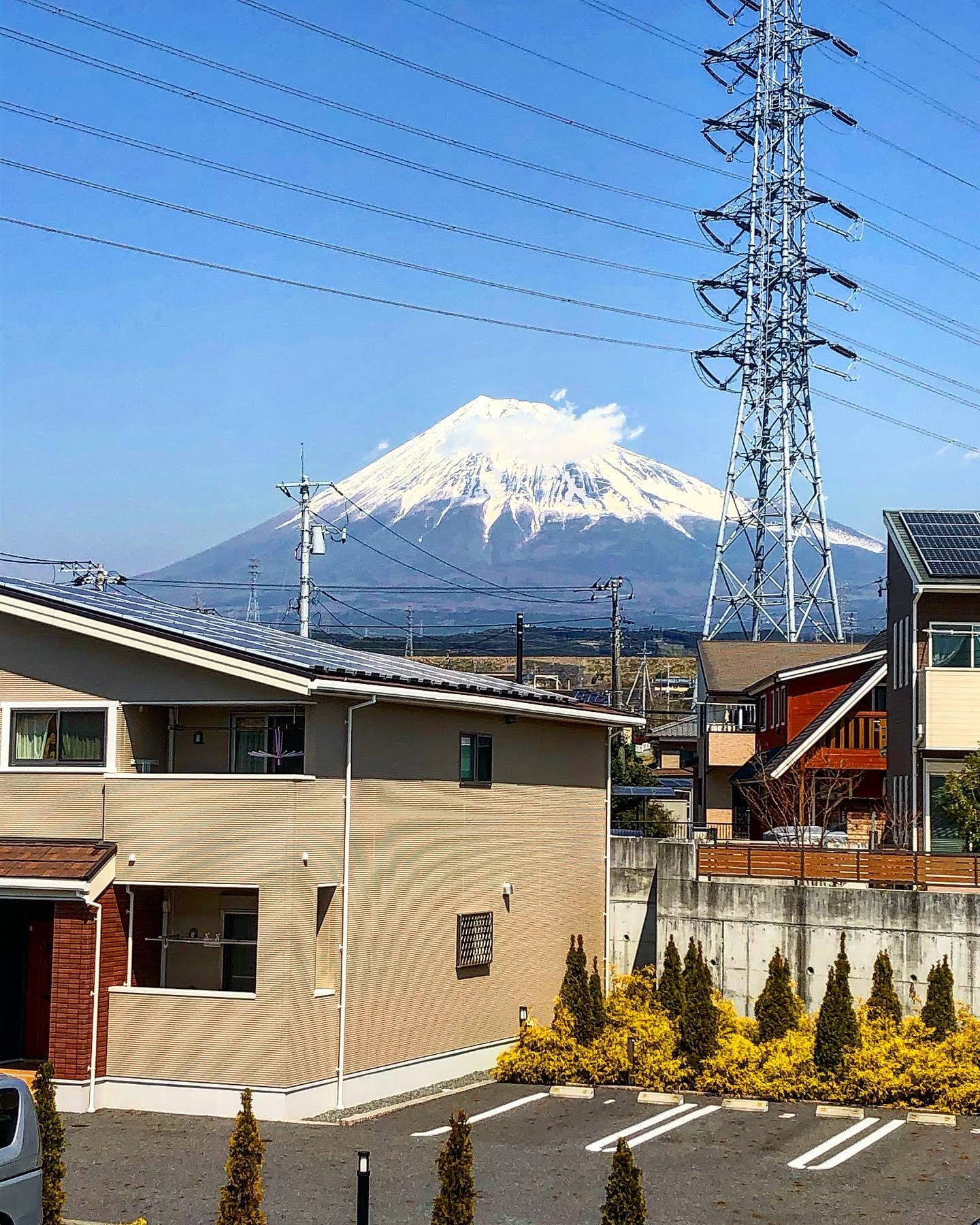 富士山とペアリング♪