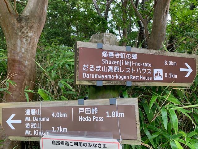 残念(T_T)~達磨山のはずが・・~