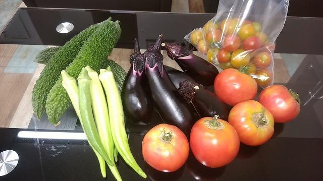 夏の贈り物♪ 坂戸市産の夏野菜!