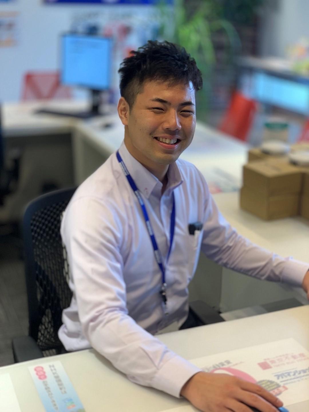 【東京不動産のスタッフ紹介】賃貸営業部の吉田臣人をご紹介します