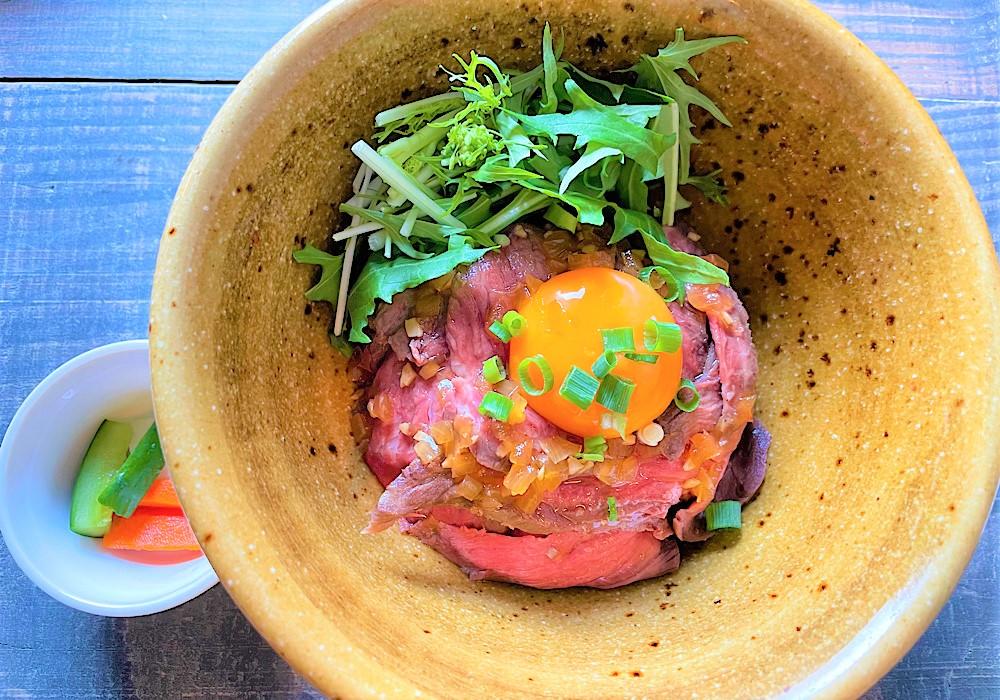 上州牛を使ったローストビーフ丼が絶品!「高崎で暮らそう」