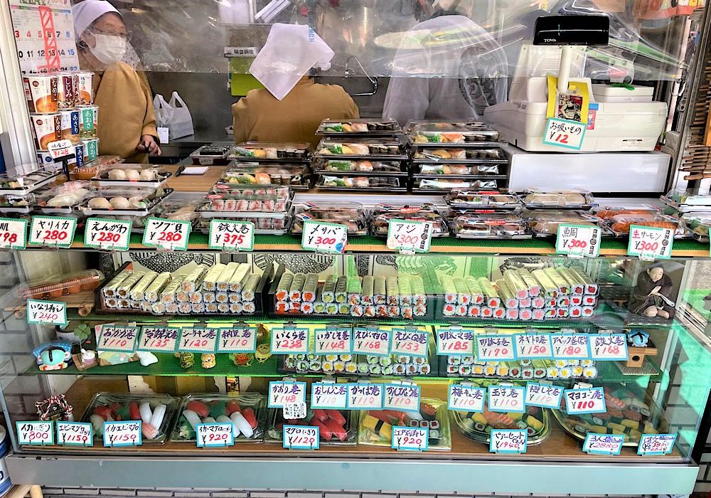 新鮮でおいしいお寿司をテイクアウト!