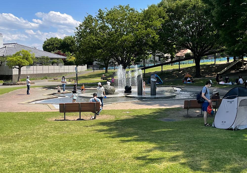 ボートに広場!楽しみ方がいっぱいの高崎「三ツ寺公園」