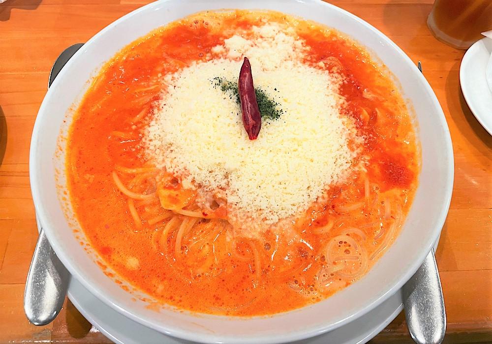 にんにくたっぷりのトマトパスタがおいしい!高崎「はらっぱ」