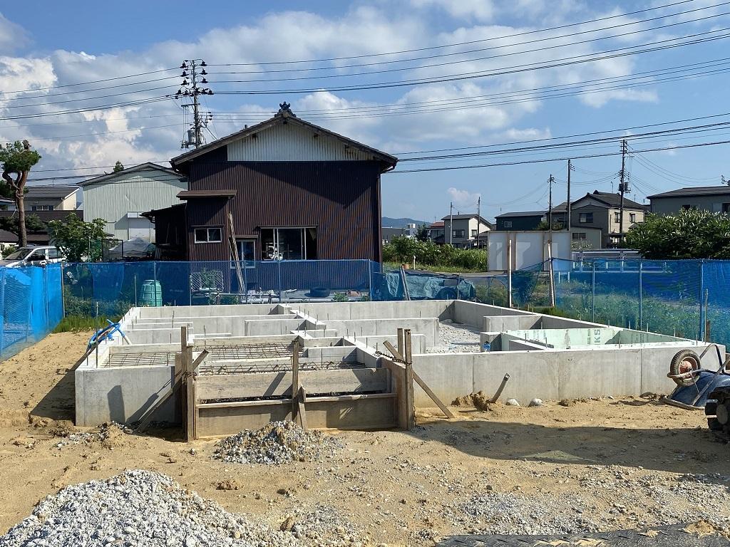 長岡市平島2丁目  新築戸建て住宅着工しました!