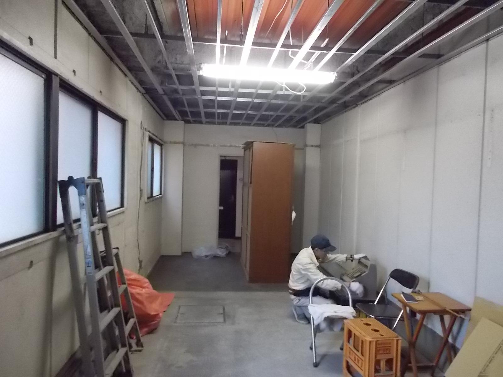 倉庫 から お部屋 へ リノベーション