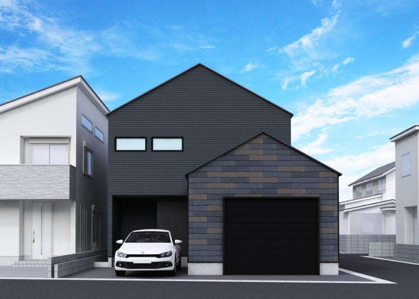 未公開!「ビルトインガレージの家」ご紹介です